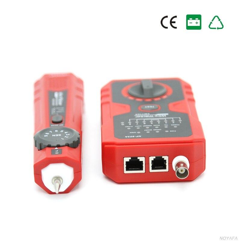 NOYAFA livraison gratuite NF-803A opération simple câble testeur générateur de tonalité pour RJ45 RJ11 BNC - 4