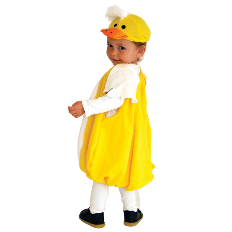 Toddler Lovely Yellow Duck Ducky Halloween Costume  4
