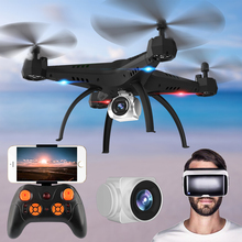 Big Size Quadcopter RC Drone 3D VR Glass Helicopter WIFI FPV with 720P HD Camera 2.4G 4WD Aircraft Children Toy Electric Model