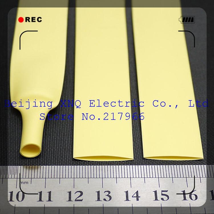 Logisch 13mm Gelb Schrumpf Schlauch Schrumpf Schlauch Wärme Schrumpf Schlauch Isolierung Rohs Ul Zertifizierten Umwelt Modische Muster Elektronische Bauelemente Und Systeme