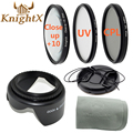 KnightX ND UV cpl filter for sony a57 nikon d800 d5200 canon 5d mark iii  70d t3i 650d 6d 49MM 52mm 58mm 67mm 55mm 72mm lens