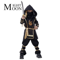 Fantasia Martial Ninja Boy S Costume Grim Reaper Halloween Cosplay Clothing Children Warrior Costumes Stage Suit