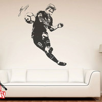 Lionel Messi 2017 Wall Decal Sticker Football Soccer Player Argentina Leo Creative Vinyl Wall Decal Mural