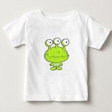 100% cotton t shirt 2018 new summer boy/girl clothes T shirt kids short sleeve O-neck t-shirt monster cartoon tee camiseta  NN цена и фото