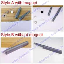 Magnet Push To Open System For Kitchen Cabinet Door Damper Buffer Closer Door Catch Without Handle