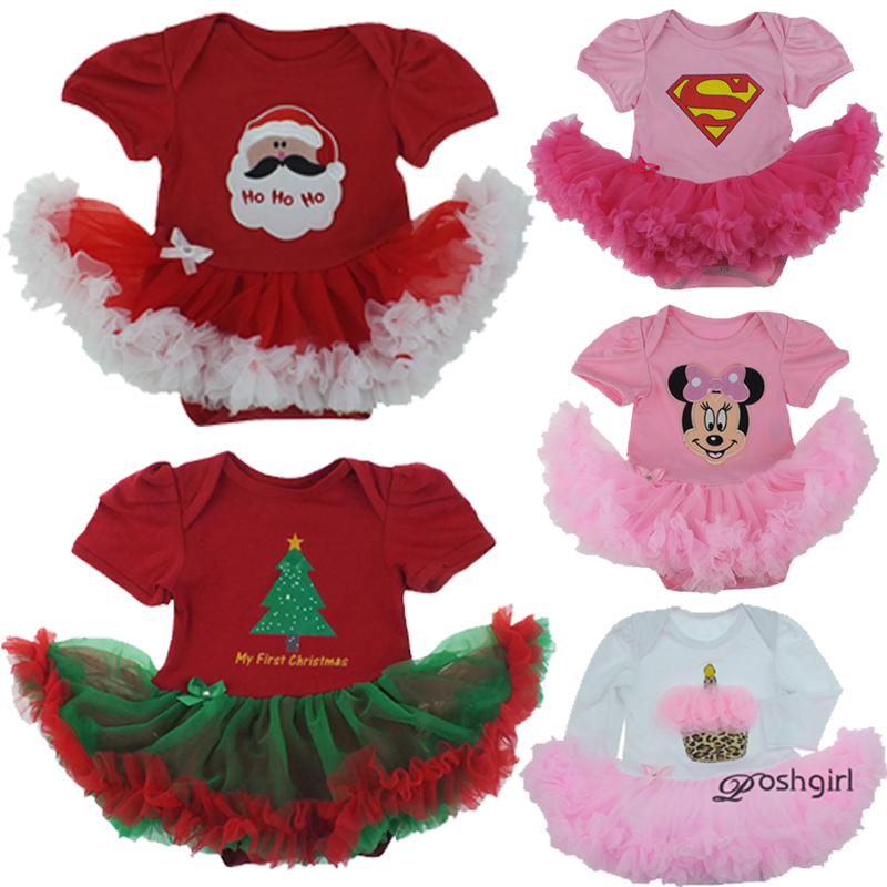 High Quality Girl Boy Suumer Suit Novelty Costume Baby Christmas Clothing Sets Minnie Mickey Party Cosplay Gift 0-3 6-9 12M one