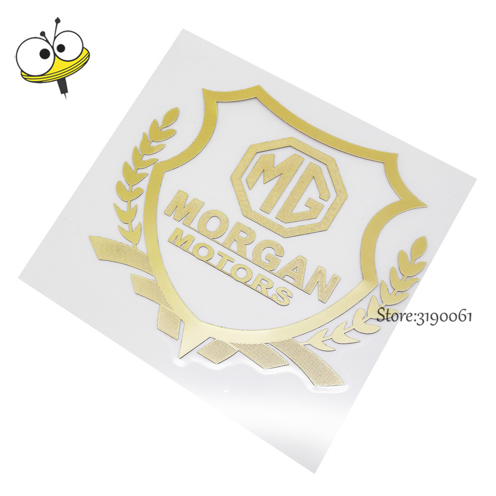 Accessories For Garage Us 1 79 10 Off Cheap Car Sticker Emblem Badge Decal Auto Car Accessories For Mg Morgan Logo For Morris Garage Mg3 Mg5 Mg6 Mg7 Tf Zr Mg Gt In Car