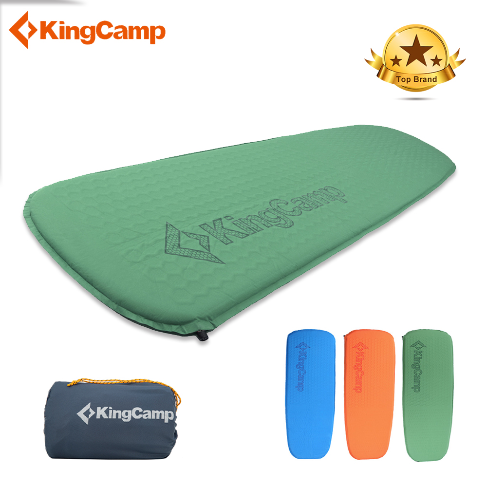 KingCamp Deluxe Camping Pad Ultraligero Sleeping Pad Compatible - Camping y senderismo
