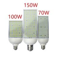 Светодиодный уличный свет лампы 70 W 100 W 120 W 150 W шоссе, дорога сада парка уличный свет E26 E27 E39 E40 85-265 V лампа наружного освещения