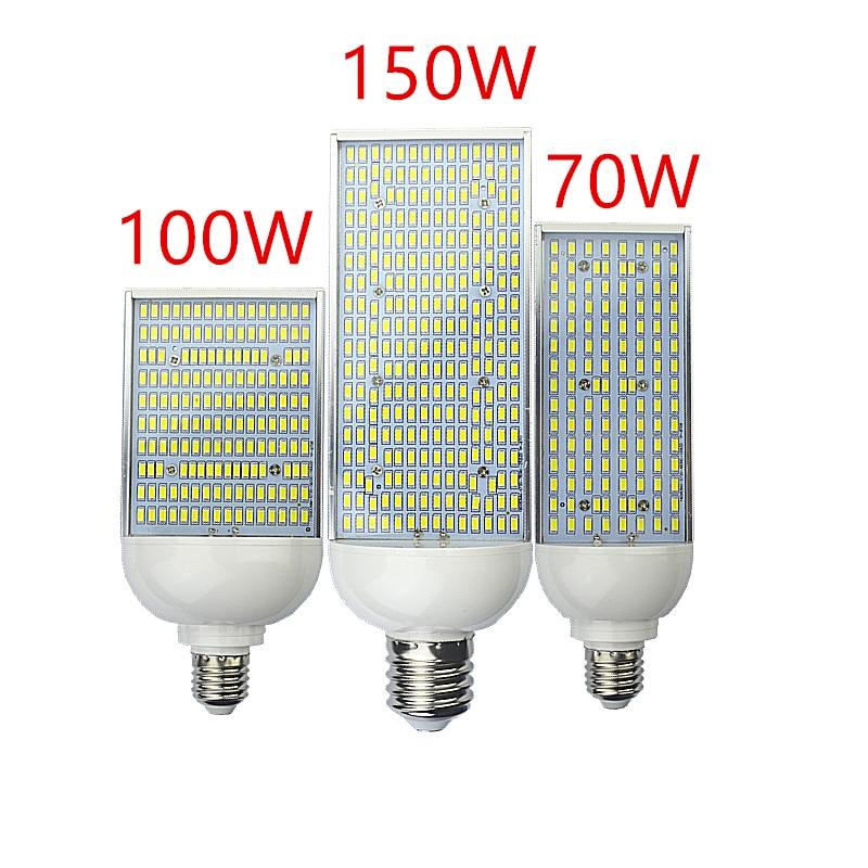 LED Street Lights Bulb 70W 100W 120W 150W Road Highway Garden Park Street Light E26 E27 E39 E40 85 265V Lamp Outdoor Lighting