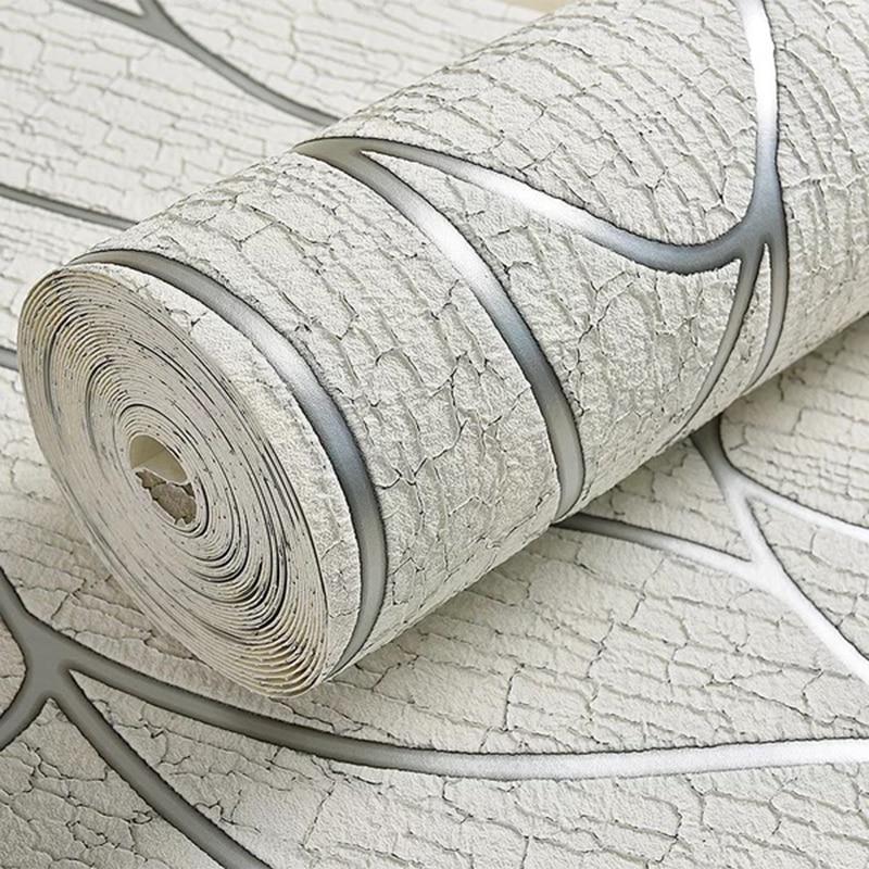 3D papier peint moderne Simple Non-tissé papier peint 3 D salon TV chambre fond mur décor à la maison Papel De Parede 3D Paisagem