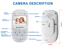 Energy-Saving Wireless Baby Security Smart Camera with Night Vision