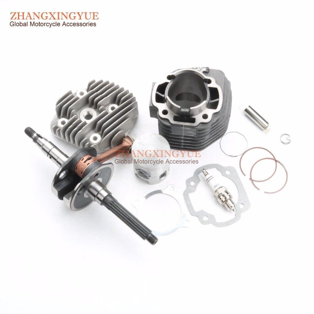 52mm 100cc Sleeve Set Cover Crankshaft For Yamaha BWS ZUMA AEROX Nitro Booster YA YW 100