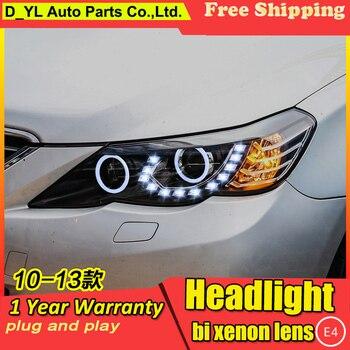 Car Styling Headlights for Toyota Reiz 2010-2013 LED Headlight for Reiz Head Lamp LED Daytime Running Light LED DRL Bi-Xenon HID