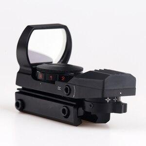 Image 3 - BIJIA منظر نقطة حمراء 11 مللي متر/20 مللي متر السكك الحديدية Riflescope قناص مسدس Airsoft مسدسات الهواء ريفلكس بندقية نطاقات المجسم البصر الصيد نطاق