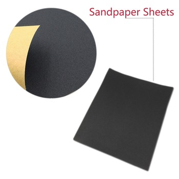 Large quantity and excellent price 230*280mm Warrior Sandpaper with grits p3000 p5000 p7000 Suitable for fine grinding image