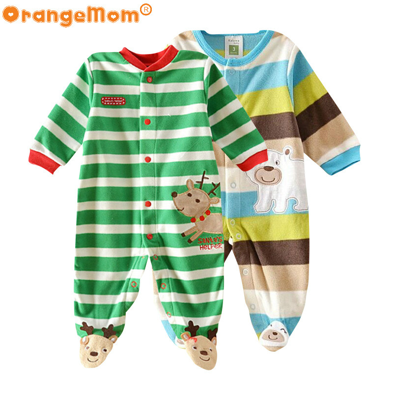 Baby clothing ! 2017 baby girl clothes Newborn clothes fleece romper long-sleeve baby product , infant baby boy clothes bebes penguin fleece body bebe baby rompers long sleeve roupas infantil newborn baby girl romper clothes infant clothing size 6m