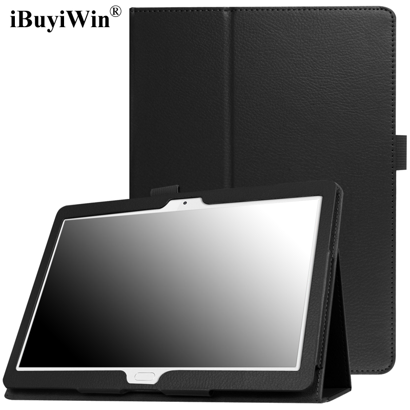 Case for Huawei MediaPad M3 Lite 10 Slim Folding Stand Cover Case for Huawei M3 Lite 10.1 BAH-W09 BAH-AL00 Tablet Funda+Film+Pen luxury pu leather cover business with card holder case for huawei mediapad m3 lite 10 10 0 bah w09 bah al00 10 1 inch tablet