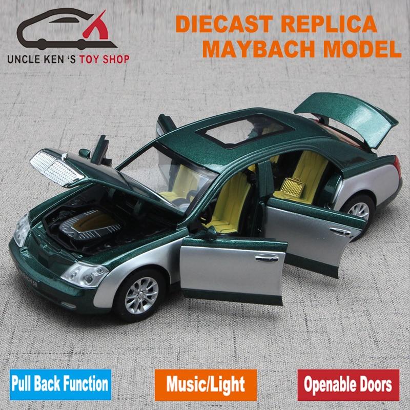 Μήκος 17,5cm μήκους Maybach Diecast Μοντέλο - Οχήματα παιχνιδιών - Φωτογραφία 3