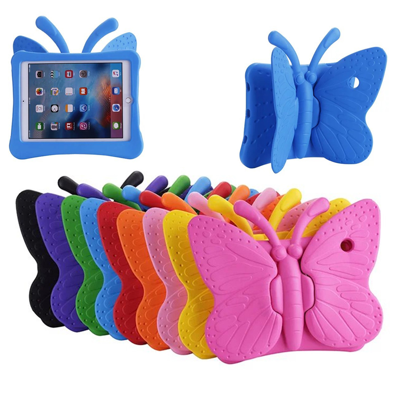 Shockproof Kids Handle Foam Case Cover for Apple <font><b>iPad</b></font> <font><b>pro</b></font> air 2 1 <font><b>iPad</b></font> 5 6 Cases Tablet Smart Stand Cover For new <font><b>ipad</b></font> <font><b>2017</b></font> 2018 image