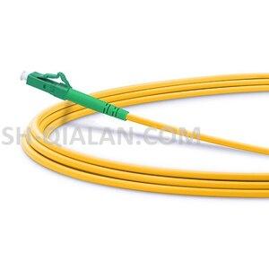 Image 3 - Fibra ottica Patchcord 10 pcs 1 m a 5 m LC APC LC APC Patch Cord In Fibra Ottica Simplex 2.0 millimetri G657A PVC Singola Modalità Cavo di Ponticello