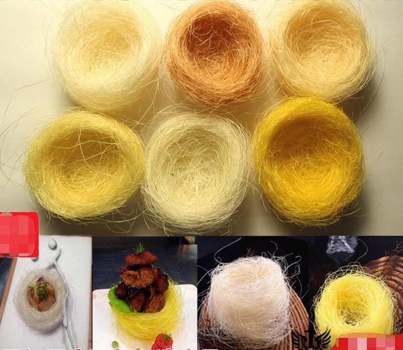 radikālā šķiedra Deco Zelta putnu ligzda radošie ēdieni Itāļu - Virtuve, ēdināšana un bārs