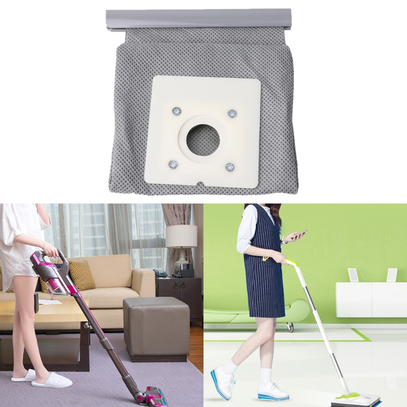 Non Woven Cloth Vacuum Cleaner Bag Reusable Washable Dust Bags For ZR0049/ZR0007 цены