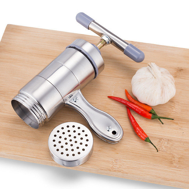 Manual Noodle Maker Press Pasta Machine Stainless Steel Fruits Juicer Cookware Making Spaghetti Kitchenware