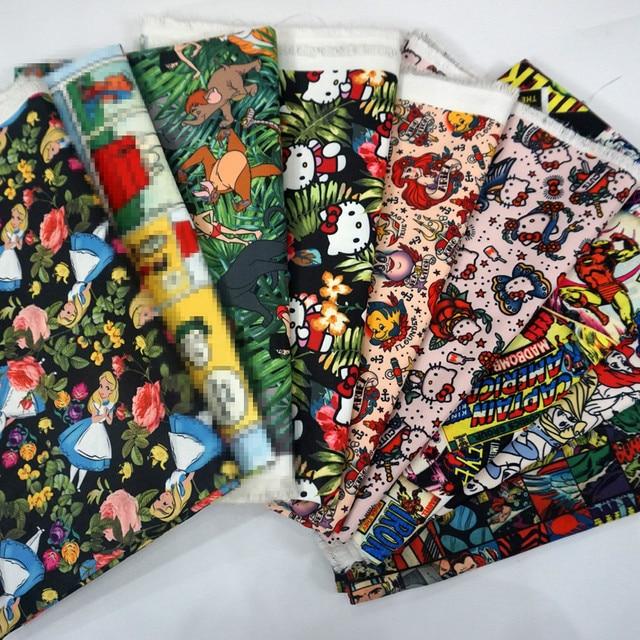 145*90 cm Alice Meerjungfrau Avenger Textil Polyester Stoff ...
