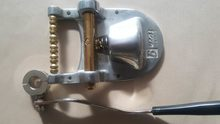 Burns Vibrato/ gretsch tailpiece Gold duo astro sparkle jet corvette bigsby(China)