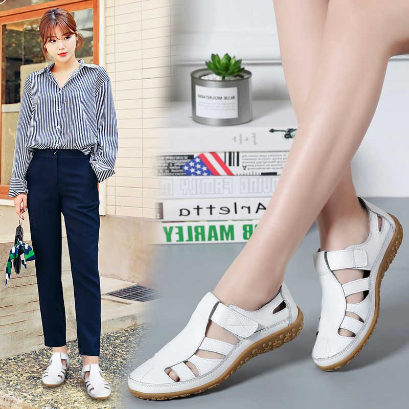 Plardin Kadınlar Flats Bahar Moda Konfor Hakiki Deri düz ayakkabı Kadın Slip On Kadın Yeşil Zümrüt Ayakkabı zapatos mujer