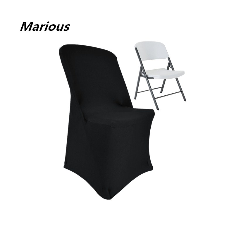 Marious Big Discount Spandex Folding Chair Covers Wedding