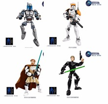 Star Wars Buildable Action Figure Model Building Blocks Toy New Star Warrior  Compatible with Lego KSZ712