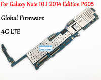 Getestet Volle Arbeit Entsperren Motherboard Für Samsung Galaxy Note 10,1 2014 Edition P605 SM-P605 LTE Logic Circuit Elektronische Panel