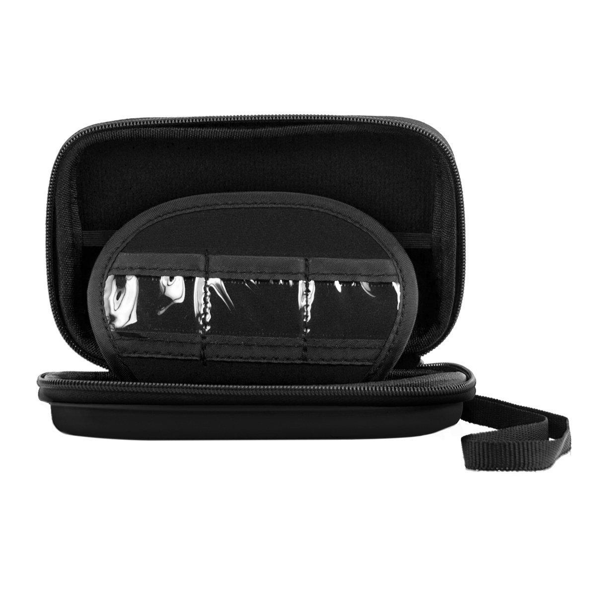 Gtfs- taşıma kasayı çantası çanta 2.5″ USB harici sabit disk sürücüsü korumak siyah