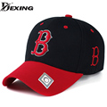[Dexing]New Casual Embroidery Letters Black Baseball Cap Snapback Hats For Men Women team Casquette Hip Hop Trucker Cap Bone