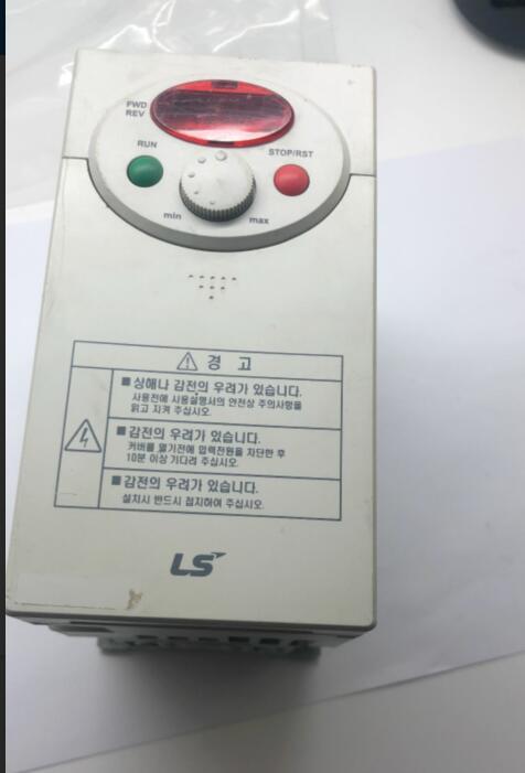 韓国/LS 0.75 KW インバータ SV008IC5 1 220 v テストされているパッケージはグッド!  グループ上の 家のリフォーム からの ヒューズ の中 1
