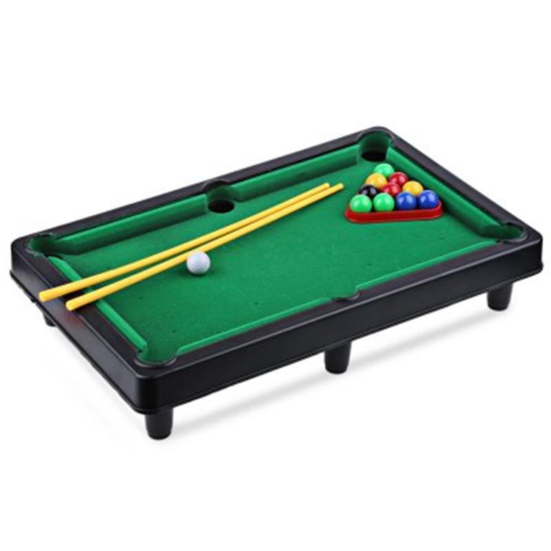 Mini Billiard Ball Snooker Pool Table Top Game Set Entertainment - Mini pool table size