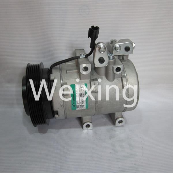 Car A/C compressor Pulley PV6 HS18 for  HYUNDAI  SANTA FE 2.0L TCL 9770126200