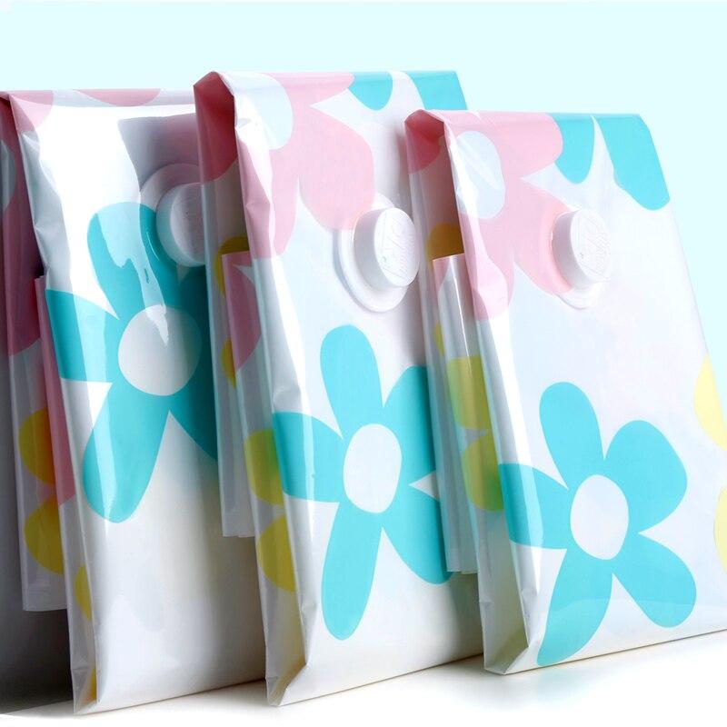 4pcs Sunflower Garment Storage Bags Vacuum Seal Compressed Bag Zip Lock Organizer New Space Saver Rangement Quilting Accessories-in Storage Bags from Home ... & 4pcs Sunflower Garment Storage Bags Vacuum Seal Compressed Bag Zip ...