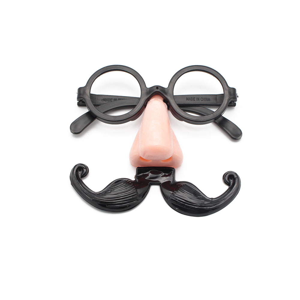 Glasses With Nose /& Moustache Fancy Dress