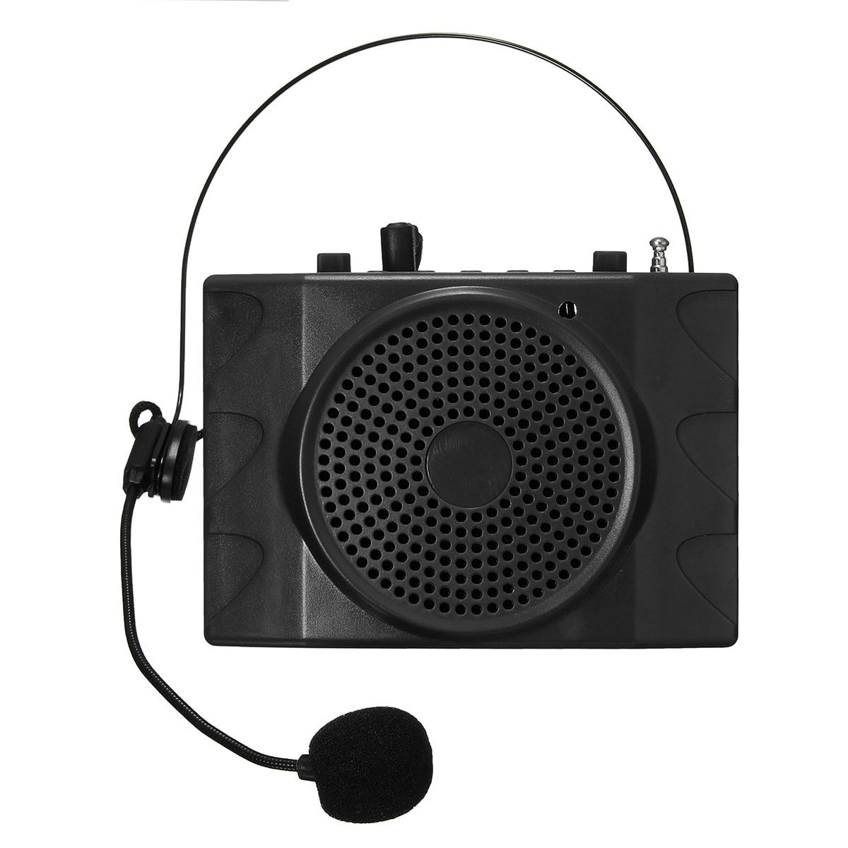 Brand ELEGIANT Multifunctional Megaphone Speaker With Mic FM Radio Loudspeaker Dedicated High-Power Amplifier Hanging Waist Belt