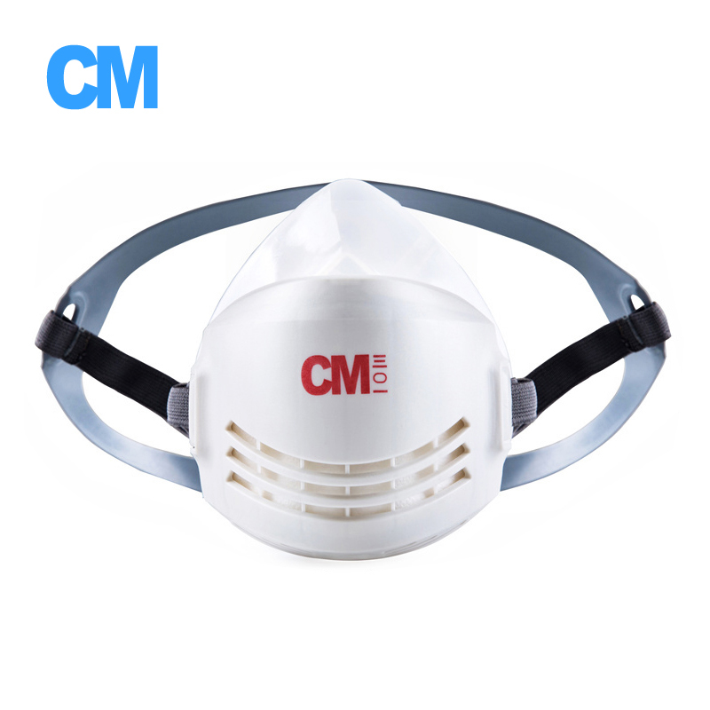 Anti-Dust Respirator Mask Industry Half Face Paint Spray Gas Mask Protective Particles KN95 Filters Silicone Body Constructions