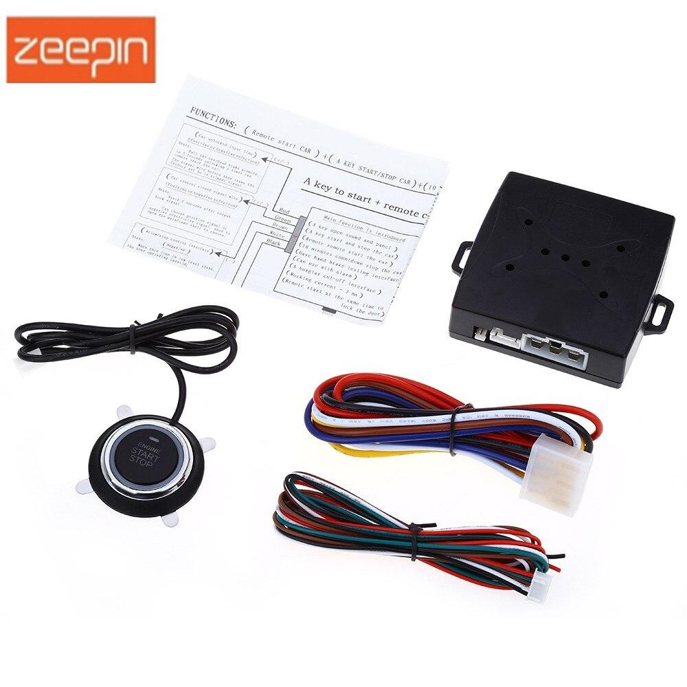 Hohe Qualität Auto Alarm Motor Push Starter Fernbedienung Taste Starter Keyless-Entry-Start Stop Wegfahrsperre