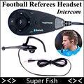 Os Árbitros de Futebol Fone de Ouvido Intercomunicador Vnetphone 5 Usuários 1200 m BT Interfone Full Duplex Falando Ao Mesmo Tempo Terno Para Árbitro de Futebol