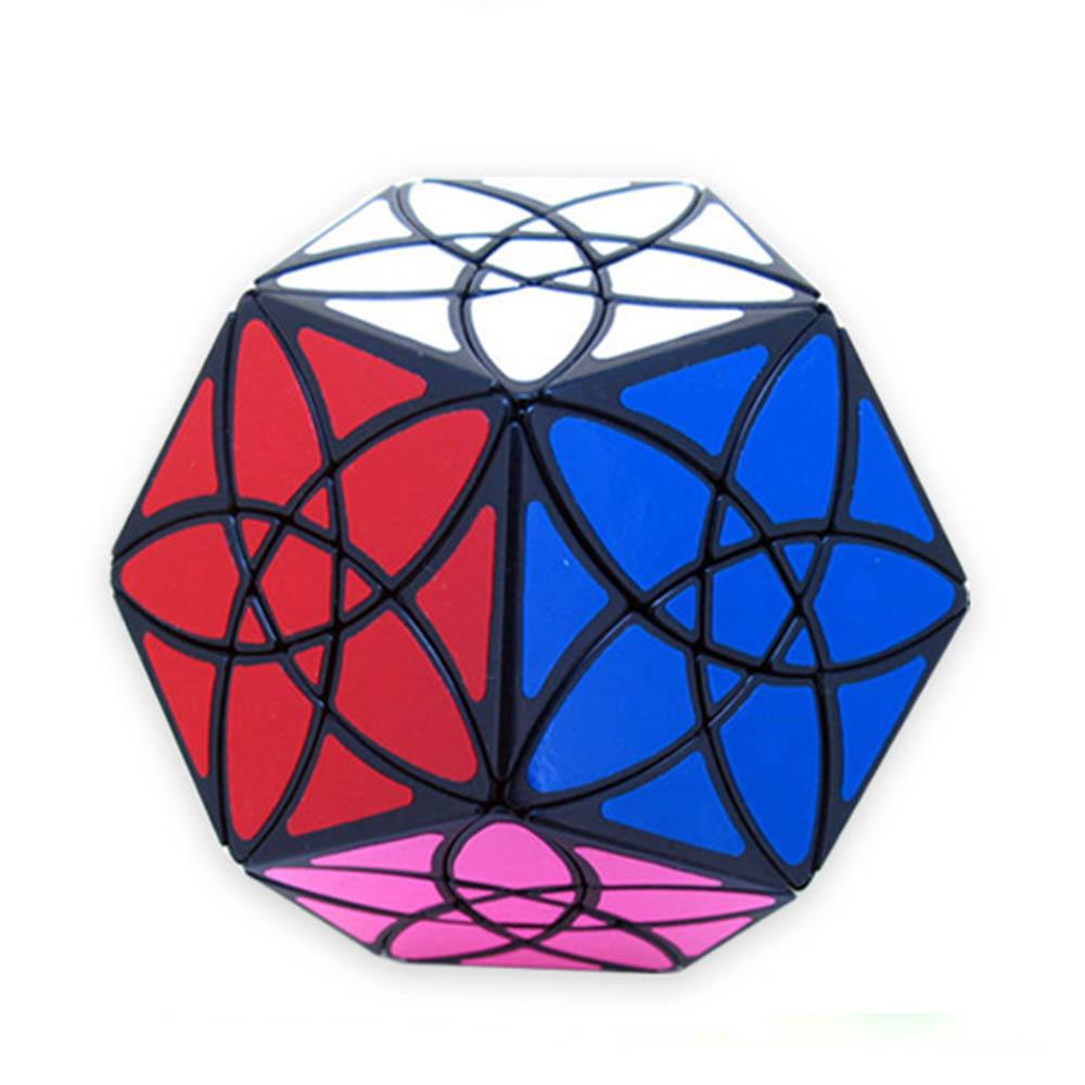 MF8 Dodecahedron Redbud Cube magique Bauhinia Puzzle vitesse Cube jouets éducatifs cadeaux pour enfants enfants
