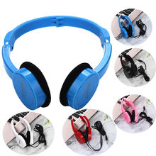 Earphone Kubite Kids Wire Headphones On Ear Foldable Stereo Headset Wired Gaming Headset Talk Mp3 Music Gaming Handsfree Earbuds(China)