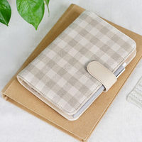 2016 New Arrive A5 A6 PU Leather Planner Snap Notebook With Notebooks Writing Pads Office School