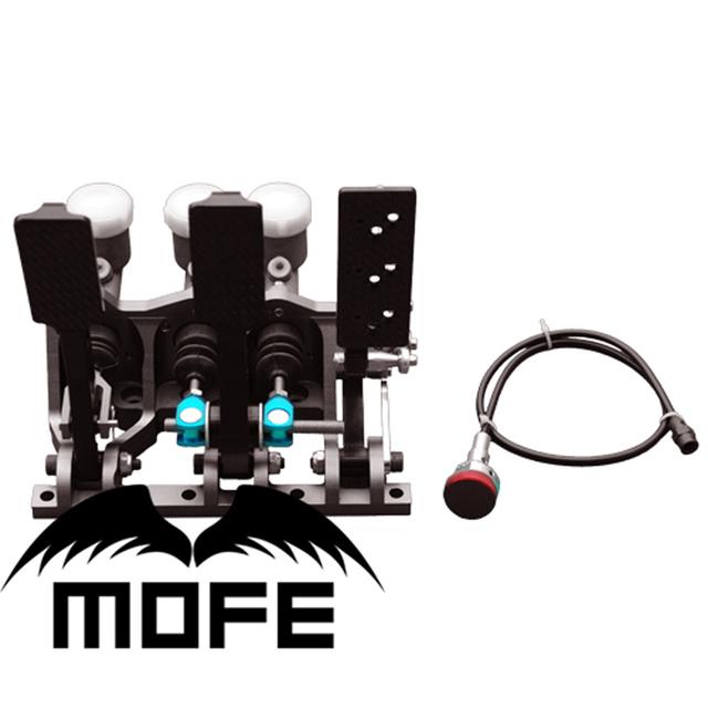 Mofe oferta especial de alta qualidade do carro do carro piso montado pedal hidráulico da embreagem freio viés kit caixa de pedal