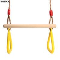 Hot Koop Kids Fitness Sport Thuis Outdoor Fitnessapparatuur Chin-up Indoor Tractie Verstelbare Set Combo Kinderen Trapeze